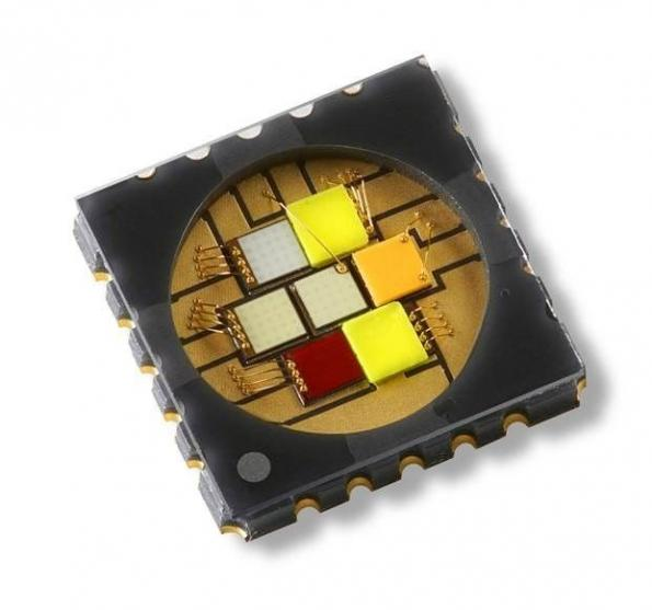 50W seven-die LED emitter enables sophisticated colour schemes