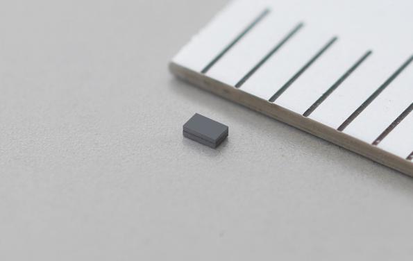 32.768 kHz MEMS resonator is only 0.9x0.6x0.3mm