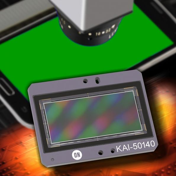 High resolution 50Mpixel CCD image sensor