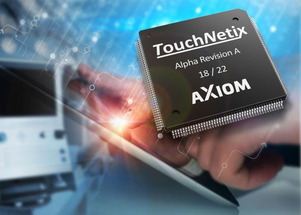Touchscreen controller also integrates haptics control