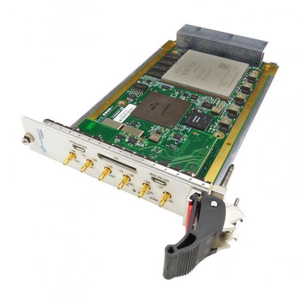3U VPX Virtex UltraScale+ FPGA board supports 5 4 GS/s 12