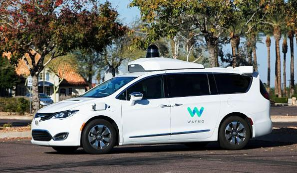 Waymo driverless cars get green light in CA