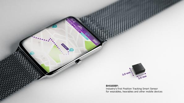 Pedestrian position tracking smart sensor saves power in wearables