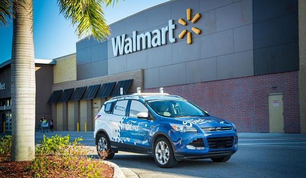 Ford, Walmart team on autonomous delivery of goods