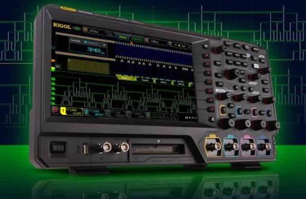 MSO ready with 2 or 4 analog and 16 digital input channels