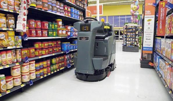 Walmart to expand 'robot janitors' in stores