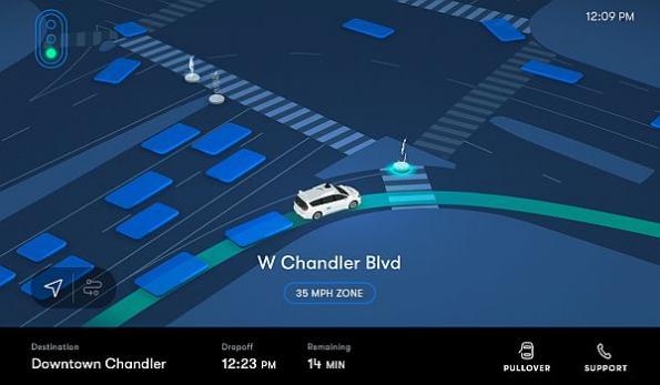 Waymo launches commercial robo-taxi service