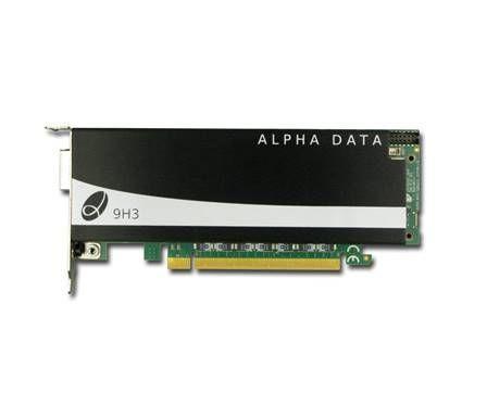 FPGA accelerator board in server-friendly format