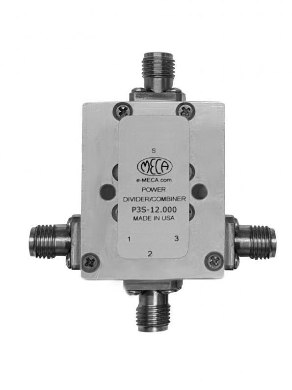 Broadband 6-18 GHz 3-way power divider