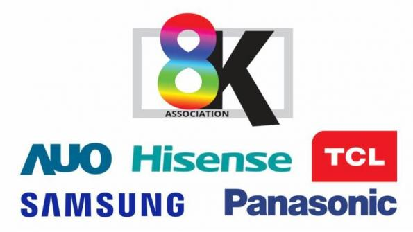 Display and TV OEMs associate to promote 8K TVs and 8K content