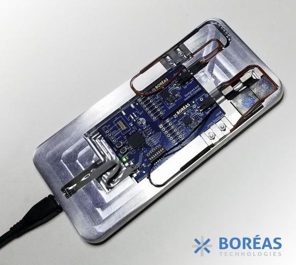 Boréas replaces smartphone buttons with haptics