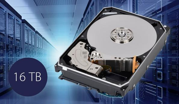 Hard disk drives reach 16TB enterprise capacity