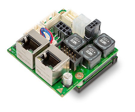 Positioning controllers now with dual loop control