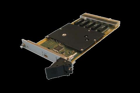 L2 & L3 Gigabit Ethernet switch in a 3U cPCI format