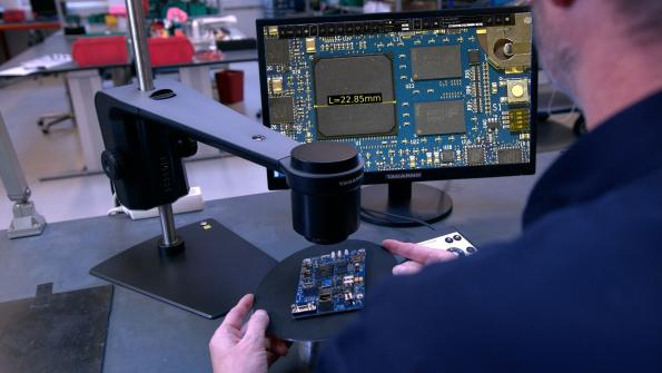 Apps to boost digital microscopes for board inspection
