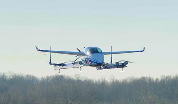Boeing autonomous air taxi completes first flight