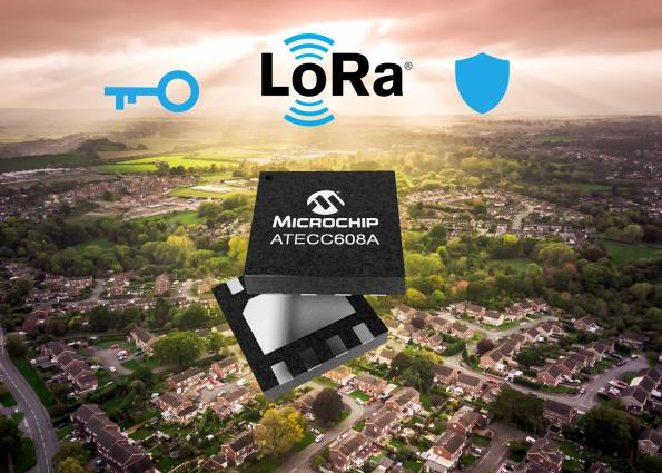 End-to-end LoRa solution provides secure key provisioning