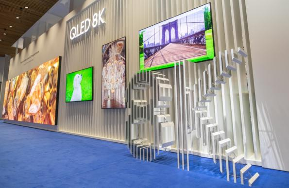 Samsung pushes 8K digital signage at ISE 2019