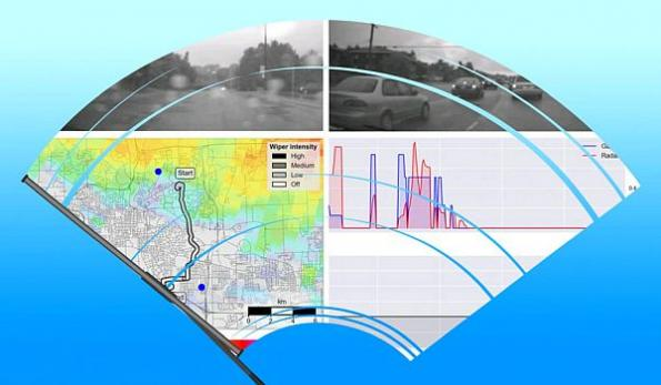 Connected cars help to forecast weather - through their windshield wipers