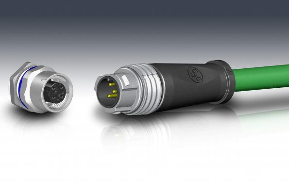 TE Connectivity partners with Yamaichi Electronics for new M12 push-pull connectors