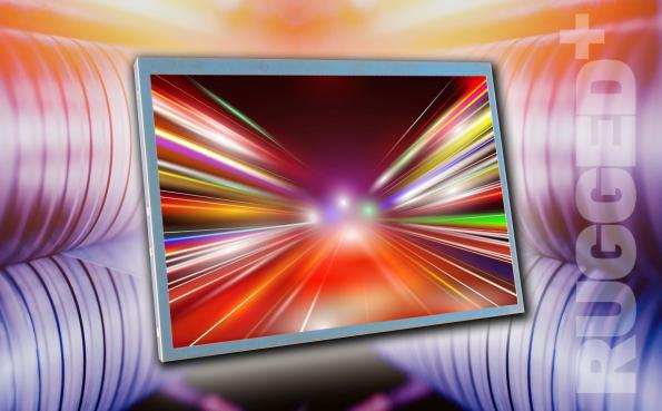 "10.1"" WXGA TFT display operates from -30 to +85°C"