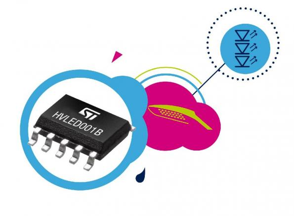 LED-lighting control chip maximizes energy efficiency at all dimming levels