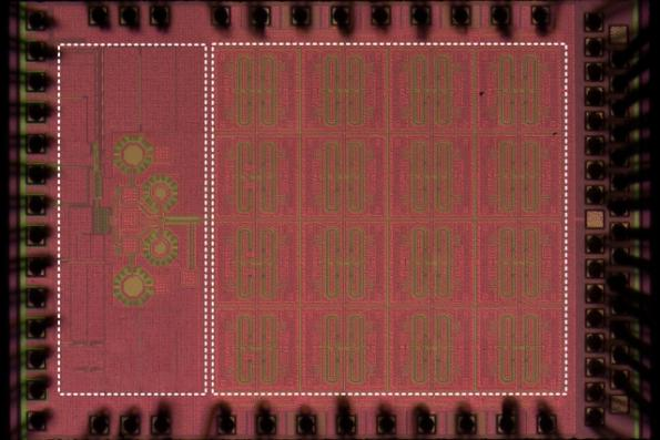 Sub-terahertz receiver array chip enables autonomous vehicles 'see' through fog and dust