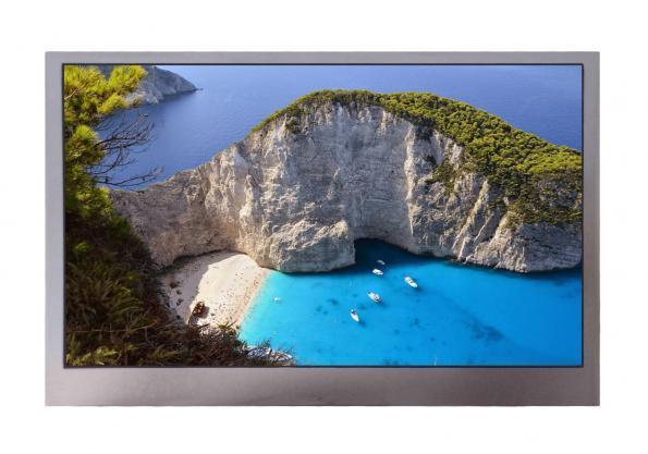4.3-inch WQVGA transflective TFT-LCD module
