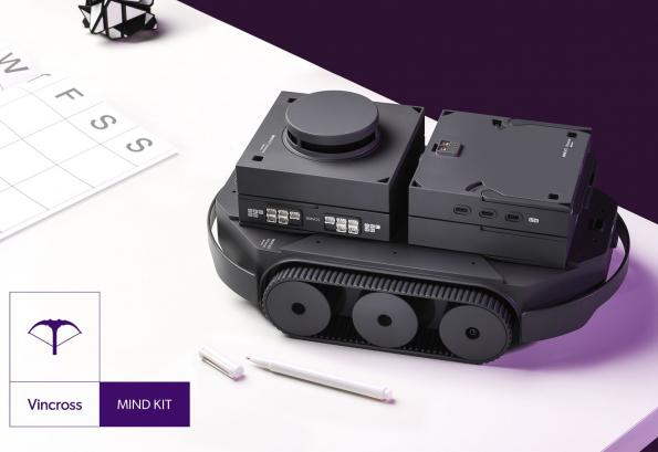 Robot development kit is highly customisable