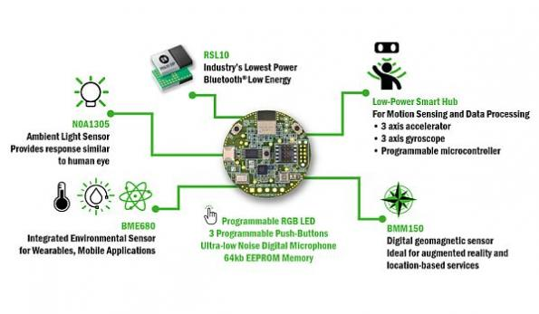 Sensor development kit for power-optimized IoT applications