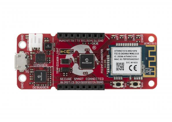 PIC MCU-based applications connect to Google Cloud in minutes