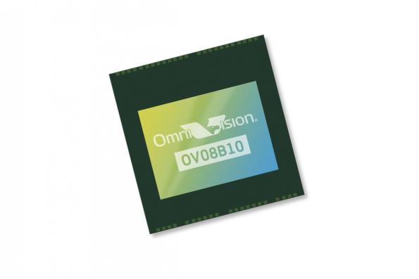"1/4"" 8 MP image sensor target front- and rear-facing smartphone cameras"