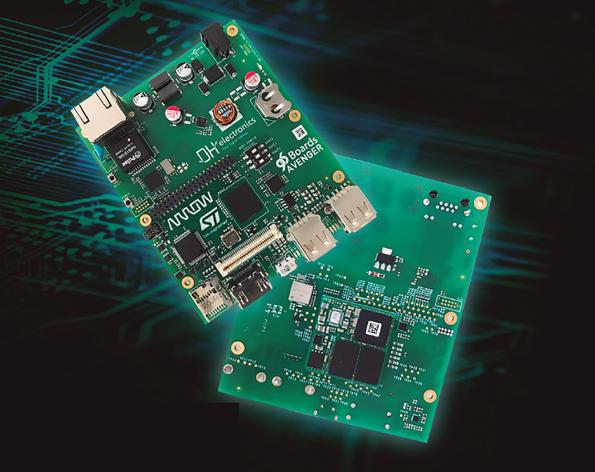 96Boards and SoM jump-start development with the STM32MP1 MPU