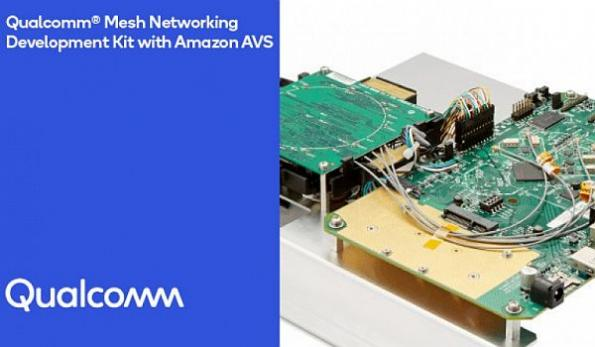Mesh Wi-Fi development kit integrates Alexa