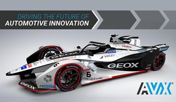AVX sponsors Formula-E racing team