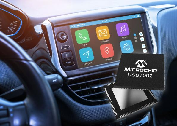Automotive USB 3.1 SmartHub offers Type-C support, 5Gbps data rates