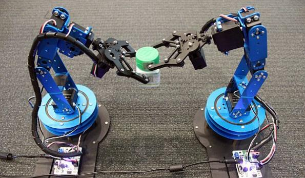 RFID tag system helps robots accurately track moving objects