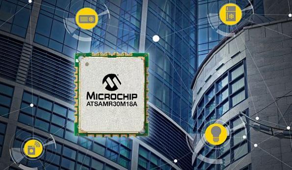 Microchip shrinks WPAN low-power sensor nodes