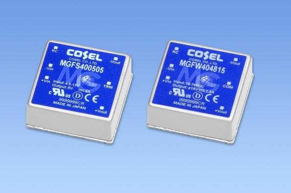 High-rel 40W DC/DC converter offers 10 year warranty
