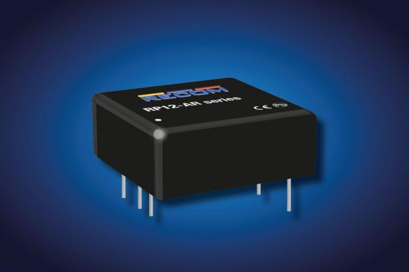 "1""x1"" railway DC/DC converters 90% efficient at up to +88°C"