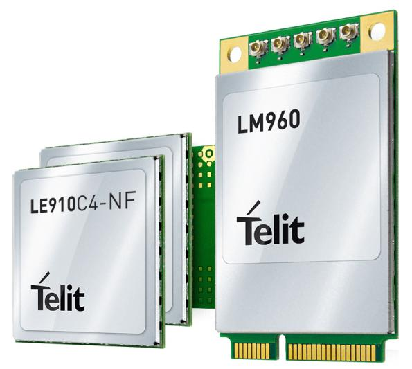Embedded LTE Band 14 IoT modules