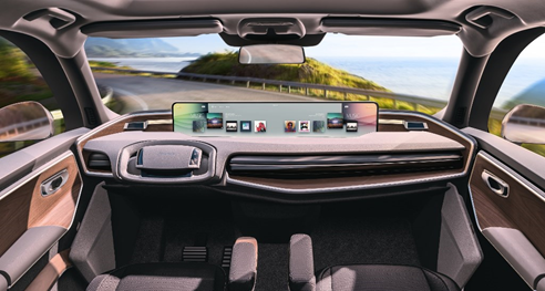 Faurecia, JDI jointly integrate large center displays in cars