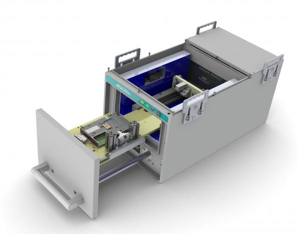 Compact test chamber for wireless systems