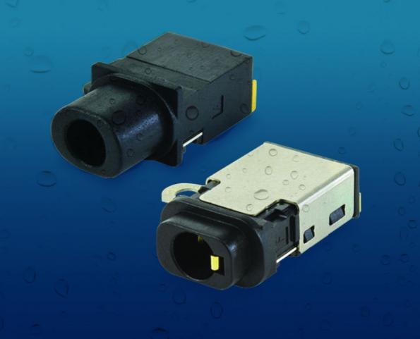 3.5mm audio jack connectors is IP67 rated