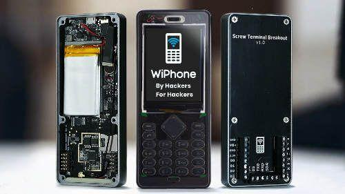 Open-source and modular WiFi phone is hacker-friendly
