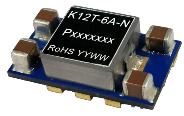 16A non-isolated point of load converter is 96% efficient at full load