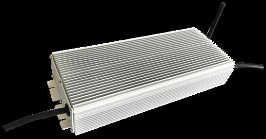 400 to 720W high-power LED drivers boast 97% efficiency