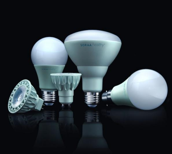 Soraa introduces blue-free, sleep-friendly LED bulbs