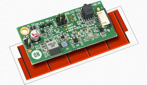 Solar cell eliminates battery in IoT multi-sensor