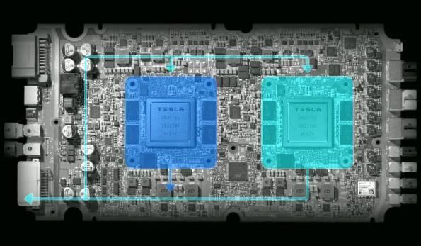 Tesla, Nvidia spar over 'best' autonomous FSD chip